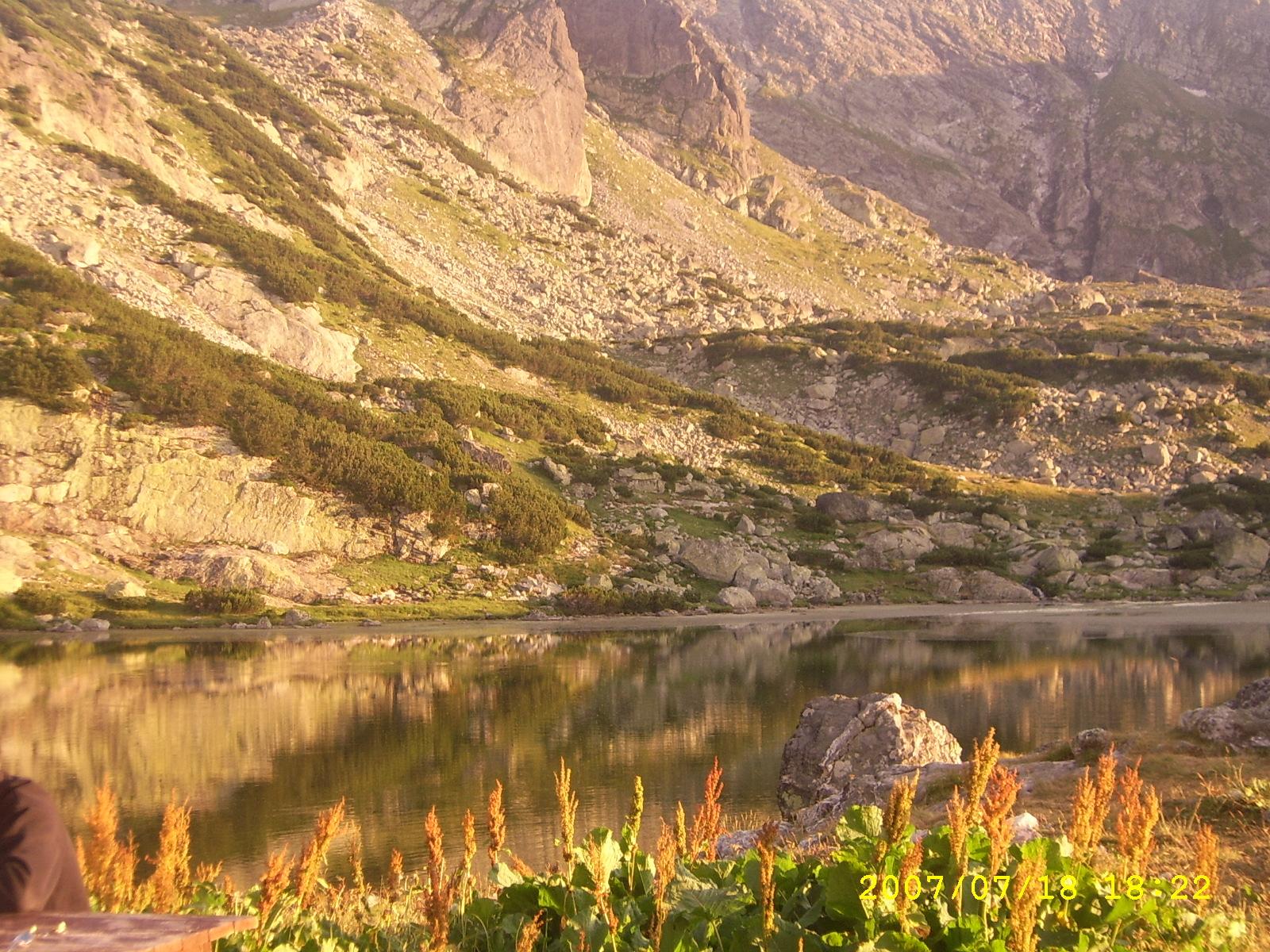 Второто езеро(Рибното) от Седемте Рилски езера