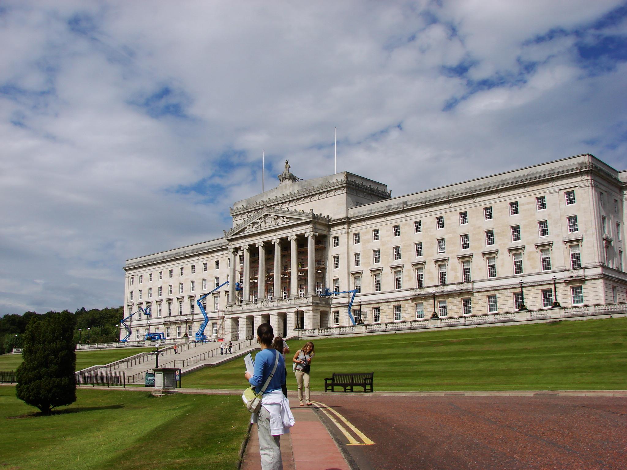 Парламентът в Белфаст, Северна Ирландия