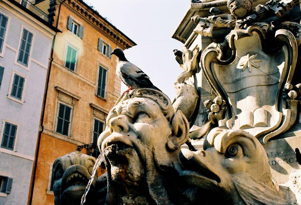 Фонтана пред Пантеона, Рим