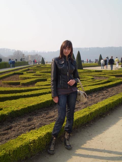 малка част от градините във Версайския дворец